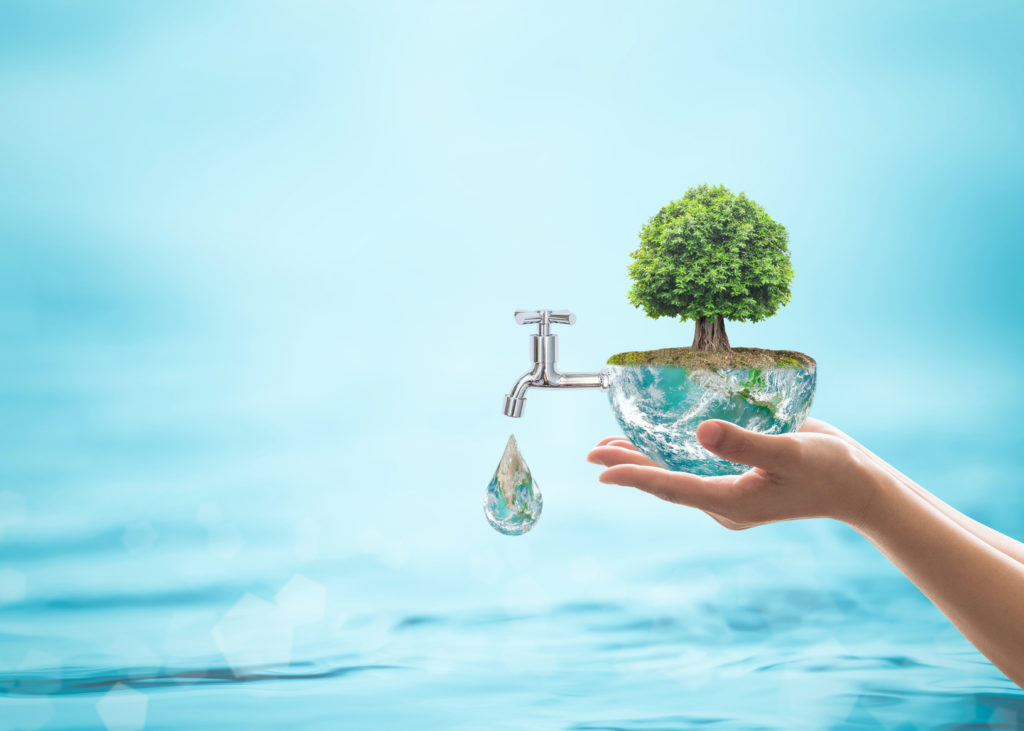 TIPS ON SAVING WATER AT HOME